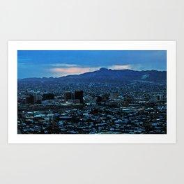 El Paso Art Print