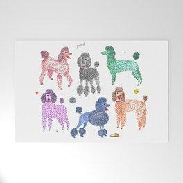 Poodles by Veronique de Jong Welcome Mat