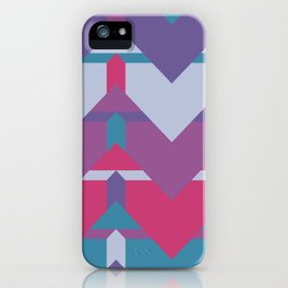 Cool Waves #society6 #violet #pattern iPhone Case