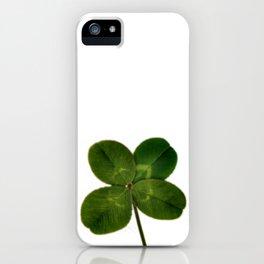 Four Leaf Clover iPhone Case