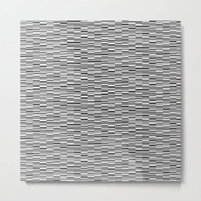 Vintage Lines Metal Print