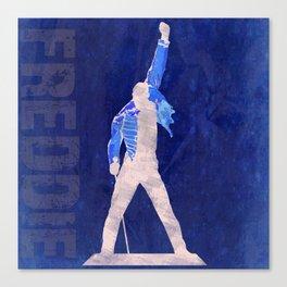 Freddie - Rock Wall 4 of 16 Canvas Print