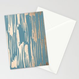 Bamboo Bronze Gold 2 Stationery Cards