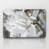 mother iPad Cases featuring Mother by .eg.
