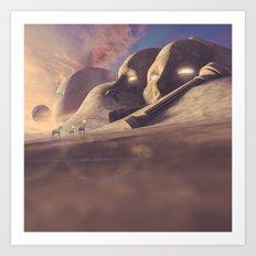 Titan's Cape Art Print