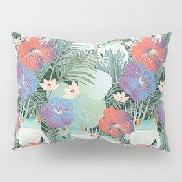 frog garden Pillow Sham