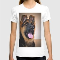 puppy T-shirts featuring puppy by  Agostino Lo Coco