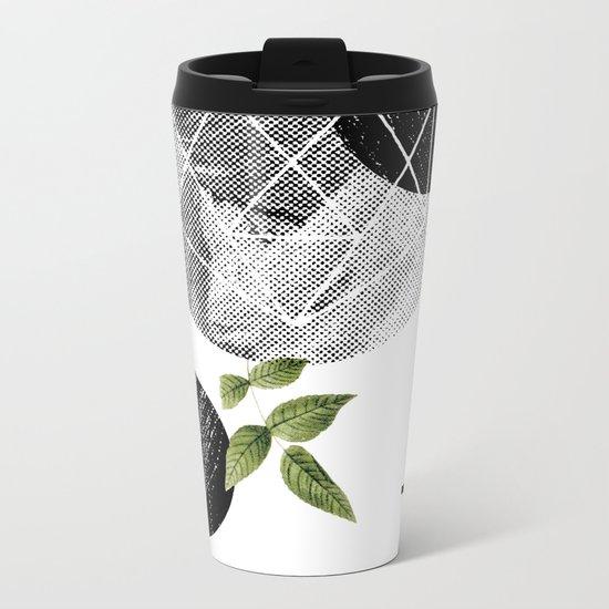 B-plus. Metal Travel Mug