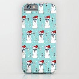 Christmas Drama Llamas iPhone Case