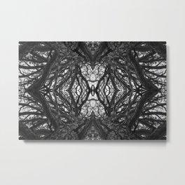 Looking inward Metal Print