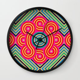 Cosmic Vibrations Within Wall Clock