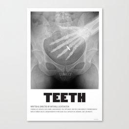 Teeth (2007) Canvas Print