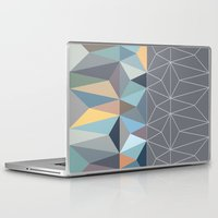 nordic Laptop & iPad Skins featuring Nordic Combination 31 by Mareike Böhmer