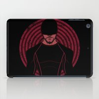 lawyer iPad Cases featuring The Devil Inside by JoSumdac