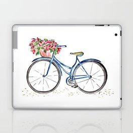 Spring bicycle Laptop & iPad Skin