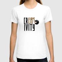 creativity T-shirts featuring creativity by Andrea Bettin ART