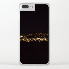 Temecula Lookout Clear iPhone Case