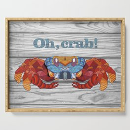 Oh, Crab! Serving Tray