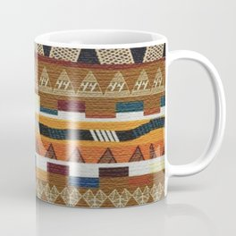 African Tribal Pattern No. 113 Coffee Mug