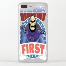 Eternia first Clear iPhone Case