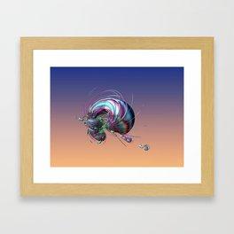 CRÉATURE ÉTRANGE 14 Framed Art Print