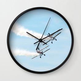 Wing Walkers Wall Clock
