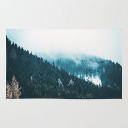 Fir Forest Winter Rug