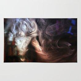Painting with Smoke - Ponytail Rug