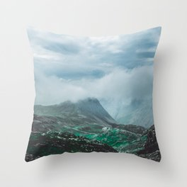 Scafell Pike 2 Throw Pillow