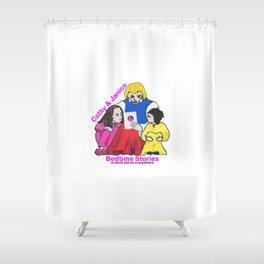 Cathy & Janice Bedtime Stories Shower Curtain
