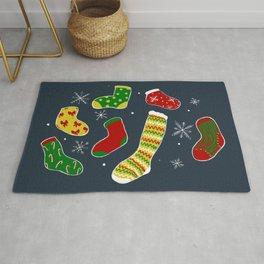 Festive Socks Rug