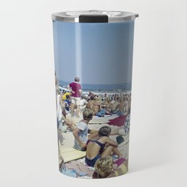 1970's Surfing Competition in Virginia Beach, VA Travel Mug