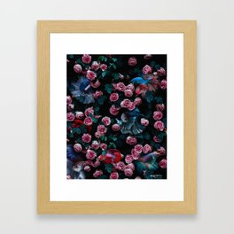 i just have a lot going on I guess. Framed Art Print
