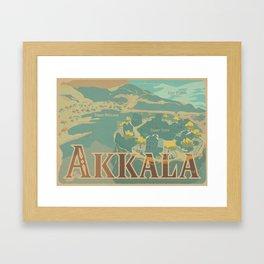 Akkala Framed Art Print