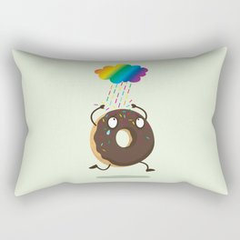 Rainbow sugar rain Rectangular Pillow