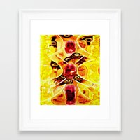 anatomy Framed Art Prints featuring Anatomy by Jose Luis