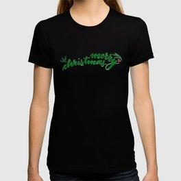 Merry Christmas - green T-shirt