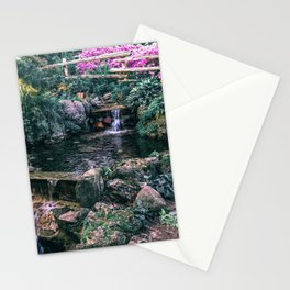 Summer Waterfall Stationery Cards