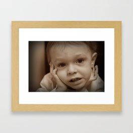 Korben Framed Art Print
