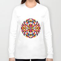 stained glass Long Sleeve T-shirts featuring Stained Glass by Danny Ivan
