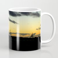 industrial Mugs featuring Industrial by MKMalesevich