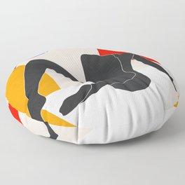 Abstract Art Nude 2 Floor Pillow