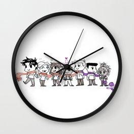 One Scarf Wall Clock