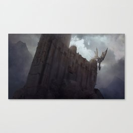 The Dragon on the Roof Canvas Print