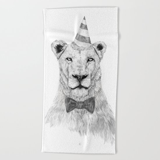Get the party started Beach Towel