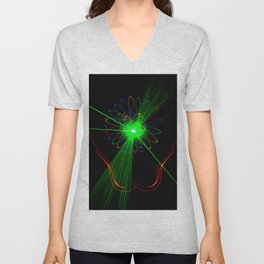 Light show 2 Unisex V-Neck