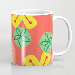 Retro Bright Floral Coffee Mug