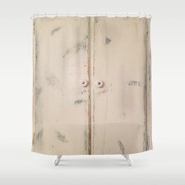 Shabby Chic, Cabinet Doors, Doors Shower Curtain