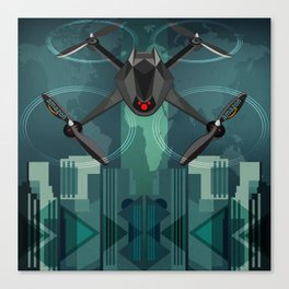 Amazon Prime Air or SKYNET the begining Canvas Print