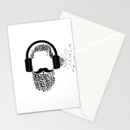 Beard the Music Stationery Cards